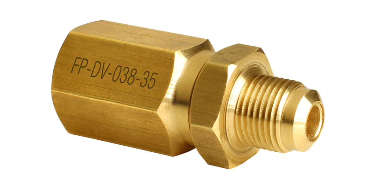 Differential check valve